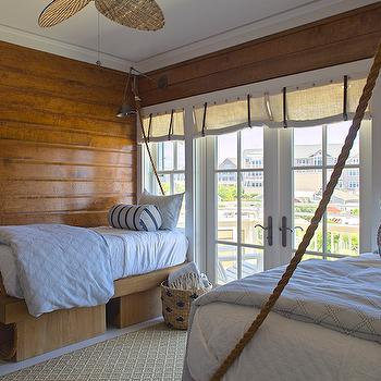 Kids Rope Beds, Cottage, boy's room, Urban Grace Interiors