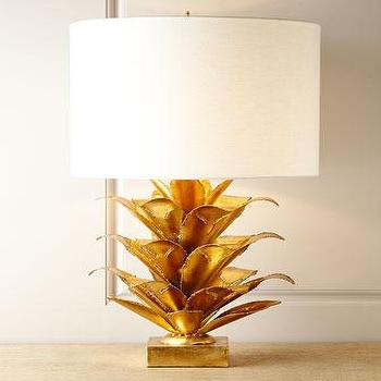Gold leaf table lamp products bookmarks design inspiration and sargasso gold table lamp aloadofball