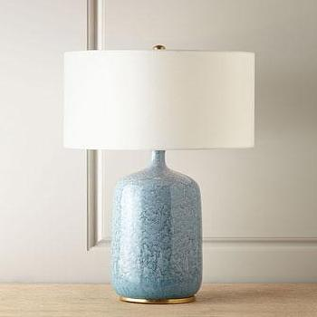 Blue Potted Accent Lamp Base World Market