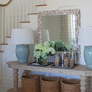 Oval Console Table, Cottage, entrance/foyer, Urban Grace Interiors