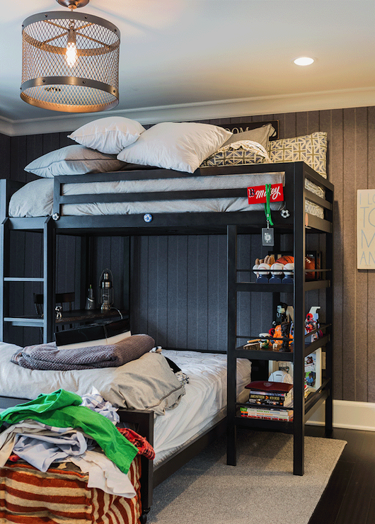 Kids Loft Bed Cottage Boy S Room Brookes And Hill