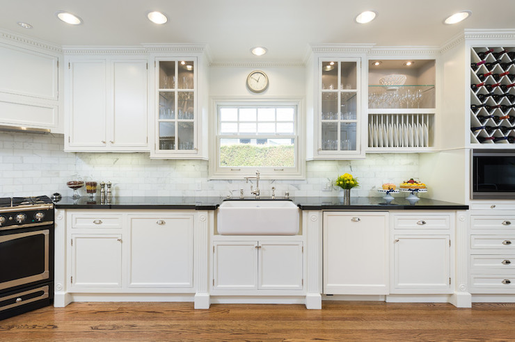 white upper black lower kitchen cabinets with Photo on Top Trends In Kitchen Cabi ry Design also Stylish Two Tone Kitchen Cabi s For Your Inspiration in addition Before And After Kitchen Makeovers together with Photo moreover Kitchen Series 1.
