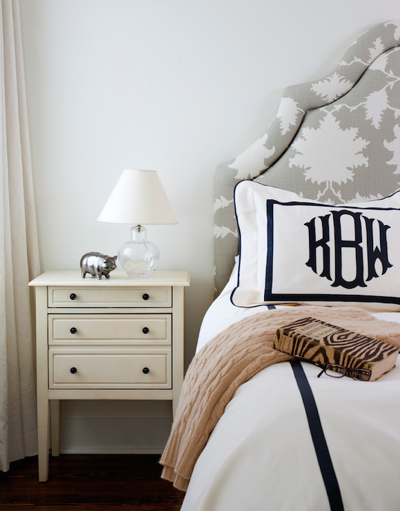 Dalmatian Print Bench Transitional Bedroom Ballard