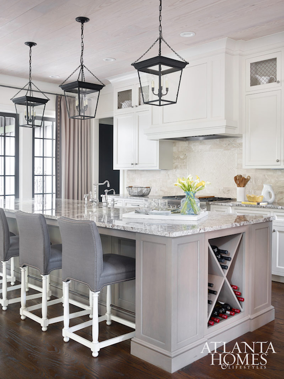 Kitchen Island Lanterns Design Ideas - Hanging lanterns for kitchen