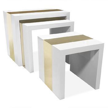 Parker Nesting Tables Set Of 2 Z Gallerie