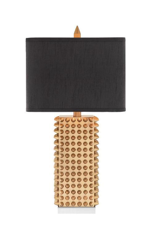 Nate Berkus Gold Table Lamp Base