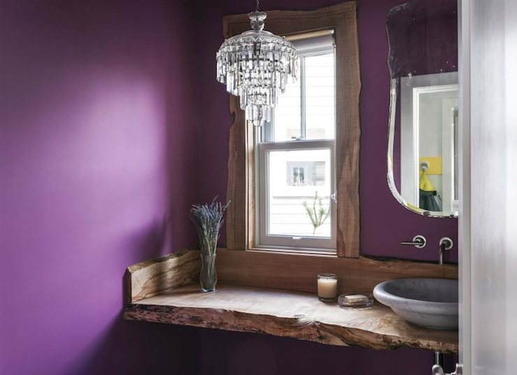 Glam Powder Room Design Ideas