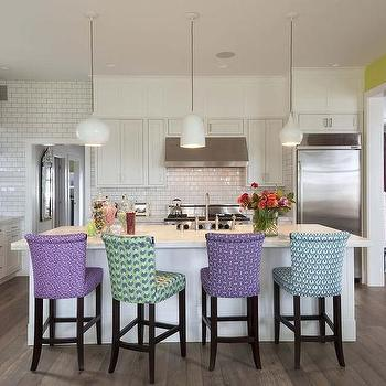 Mismatched Counter Stools