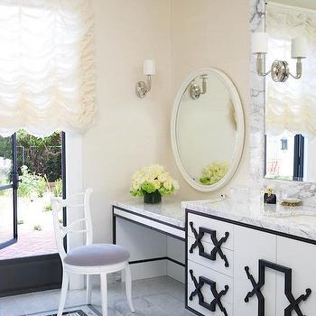 Hollywood Regency Bathrooms, Hollywood Regency, bathroom, Jamie Herzlinger
