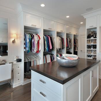Built In Vanity Transitional Closet Lynn Morgan Design