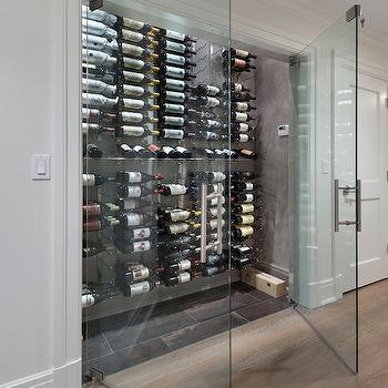 Floor To Ceiling Wine Racks Design Ideas