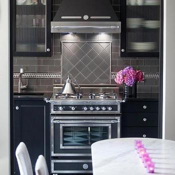 Accent Tile Above Stove Design Ideas