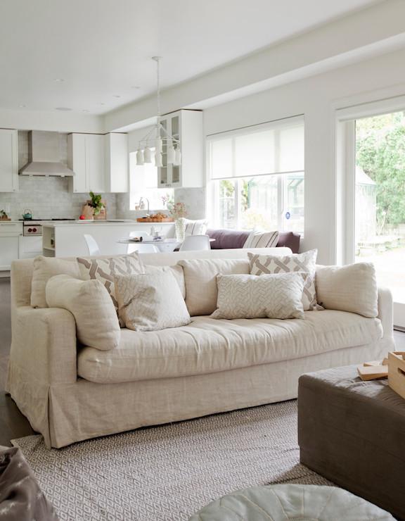 Charcoal Gray Sofa - Transitional - living room - Sherwin ...