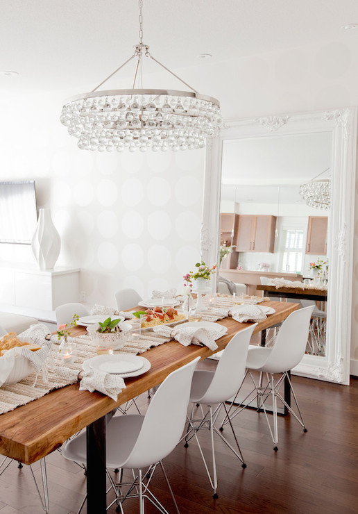 Reclaimed Wood Baluster Dining Table With Ghost Dining