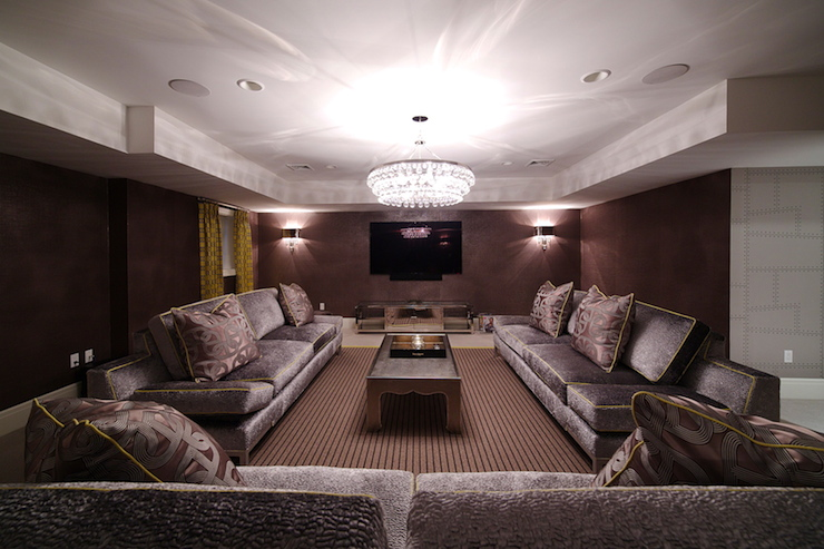 Basement Movie Room Design Ideas