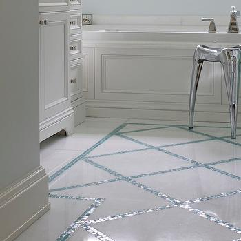 Turquoise Floor Tiles Design Ideas