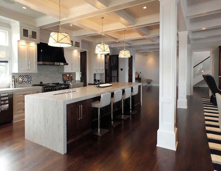 kitchens long island long kitchen islands transitional kitchen katie bassett interiors 8567