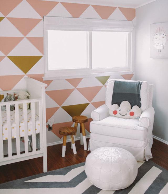 Black And White Nursery Contemporary Nursery