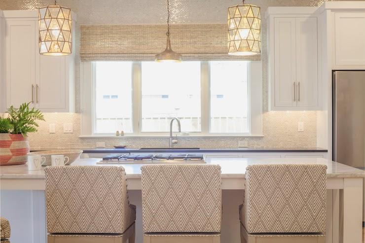 Worlds Away Mariah Pendant Transitional Kitchen Lucy