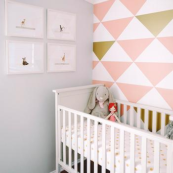 Crib Canopy Eclectic Nursery Little Crown Interiors