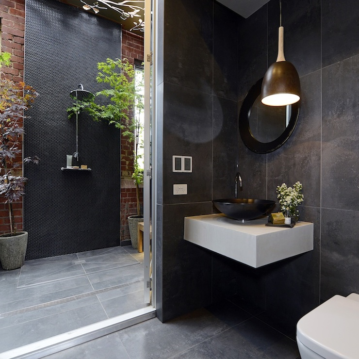 Outdoor Bathroom Ideas Modern Bathroom The Block