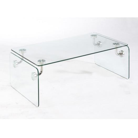 clarion clear coffee table