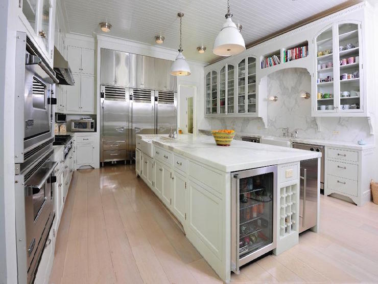 Double Kitchen Sinks Transitional Kitchen Urban