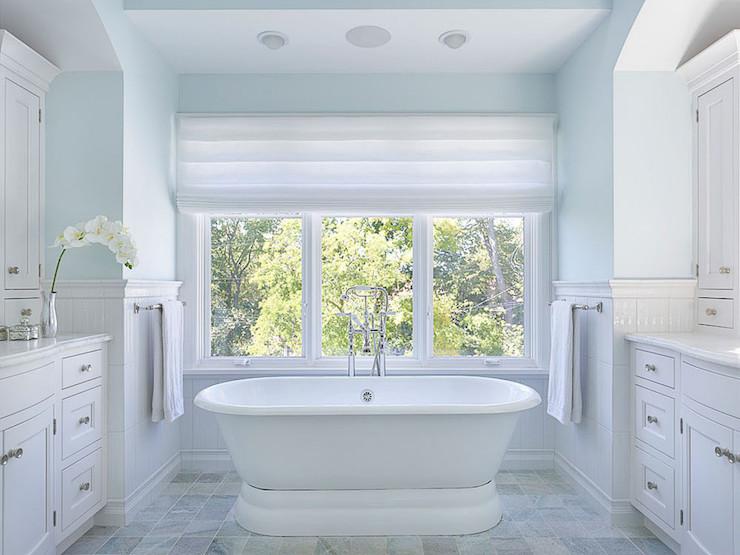 Master Bathroom Tub - Transitional - Bathroom - Lewis and Weldon