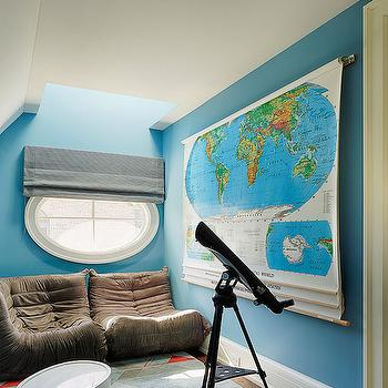 Attic Playroom Ideas, Contemporary, Boy's Room, Lewis Giannoulias interiors