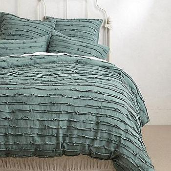 Spliced Linen Bedding I Anthropologie