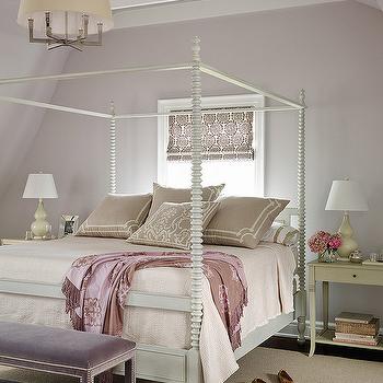Gray and Purple Bedrooms, Transitional, Bedroom, Andrew Howard Interior Design