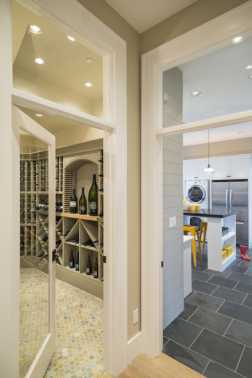 Wine Cellar Ideas - Transitional - Kitchen - TTM Development