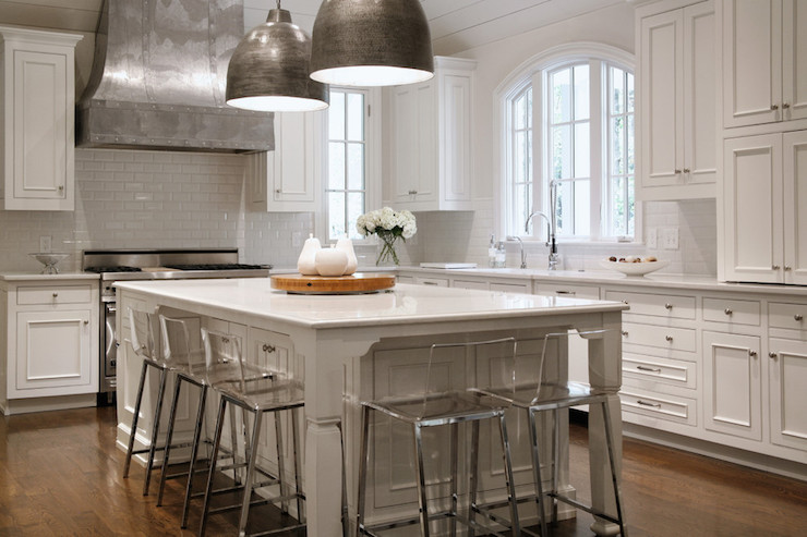 Zinc Kitchen Hood - Transitional - Kitchen - CR Home Design