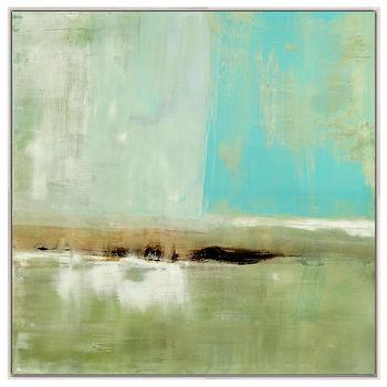 The Distance Framed Stretched Canvas Art I Layla Grayce