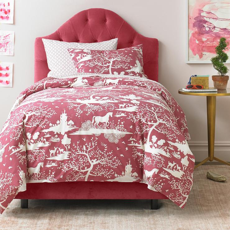 Fable Pink Duvet Set View Full Size