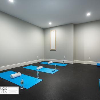 basement yoga studio design ideas