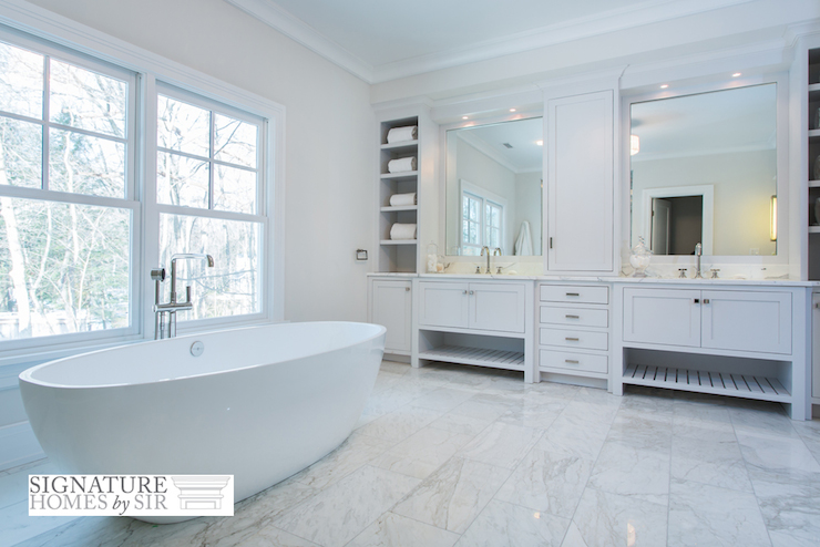 Egg Bathtub - Transitional - Bathroom - Sir Development