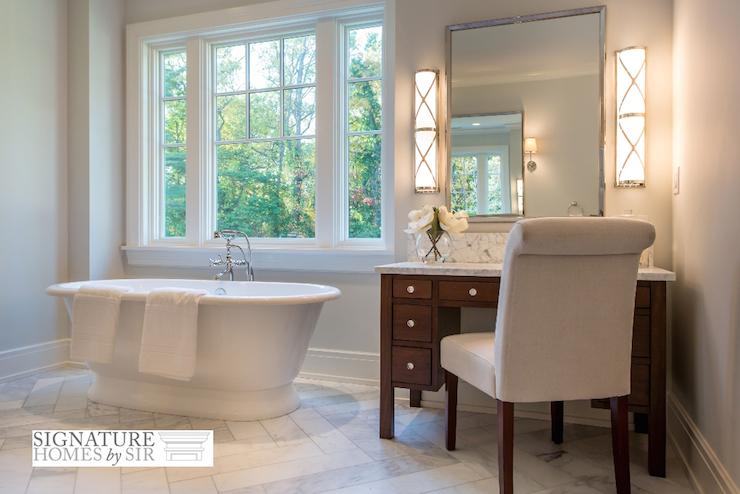 Master Bathroom Dressing Table Design Ideas, Bathroom Dressing Table