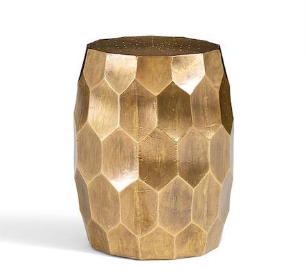 Melisande Honeycomb Garden Stool Look For Less