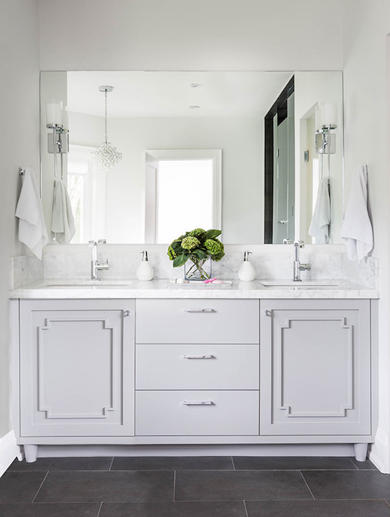Bathroom Vanity Moldings Transitional Bathroom Jodie Rosen Design