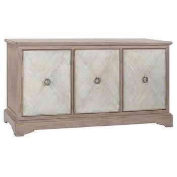 Gabby Ansley Parched Oak Cabinet I Zinc Door