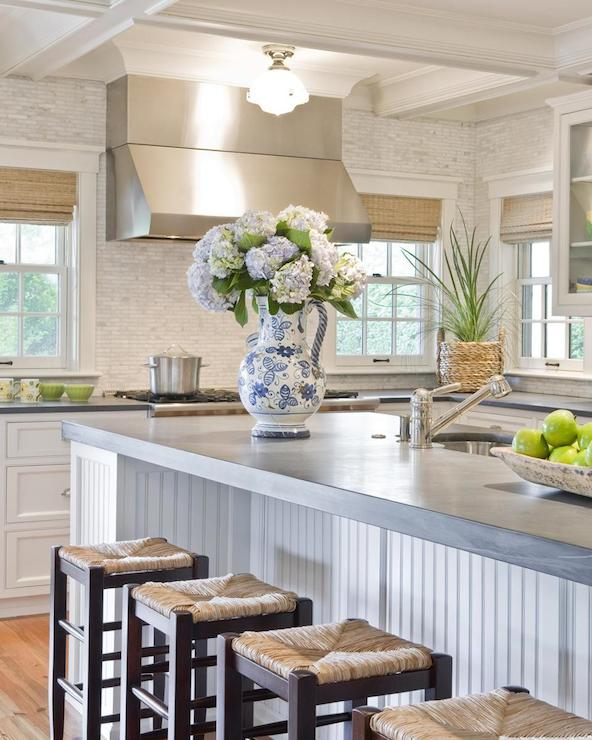 Cottage Kitchen Countertops: Beadboard Kitchen Ceiling