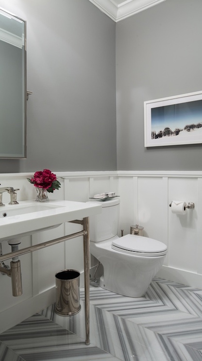Image Result For Small Bathroom With Gray Tiles