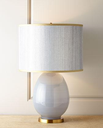 jamie young eva blue table lamp