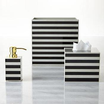 Waylande Gregory Striped Vanity Accessories I Horchow