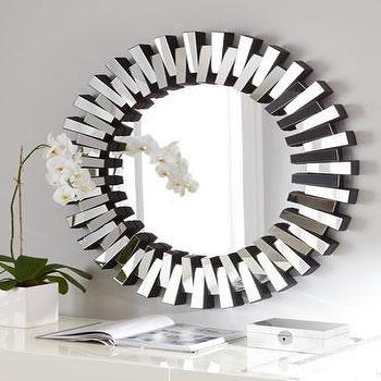 Mingling Slats Mirror I Horchow