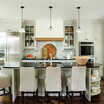 Oval Kitchen Island Design Ideas