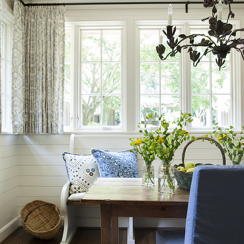 Cottage Breakfast Room, Cottage, Dining Room, Westbrook Interiors