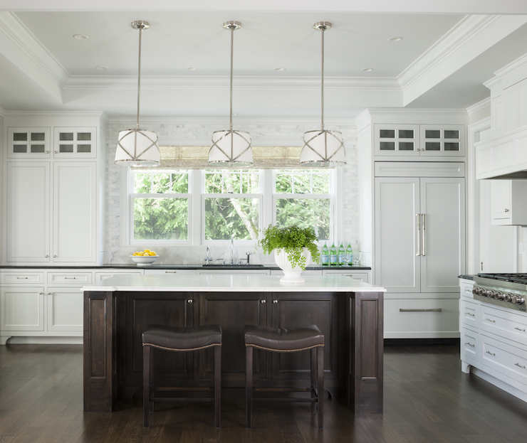 Kitchen With Tray Ceiling Traditional Kitchen