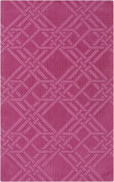 The Oakes Magenta Rug
